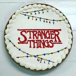 Stranger Thing Cookie Cake