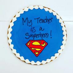 Teacher Appreciation Cookie Cake