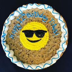 Sunshine Cookie Cake