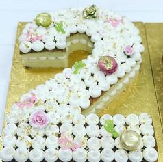Girly Carved Graduation Cake