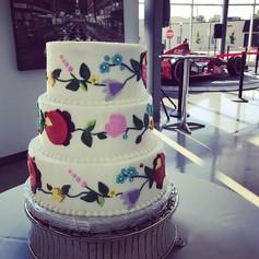 Polish Style Wedding Cake