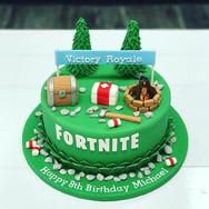Victory Royale Birthday Cake