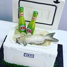 Yeti Grooms Cake