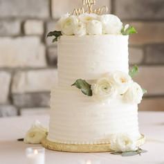 Modern Buttercream Wedding Cake