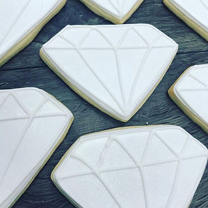 Sweet Escape Cake Company Wedding Cookie
