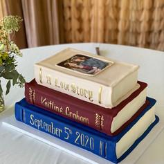 Novel Grooms Cake