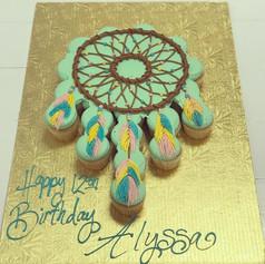 Dream Catcher Cupcake Cake