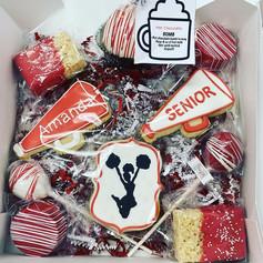 Cheerleader Dessert Gift Box Set