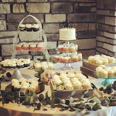 Wedding Cake Dessert Table