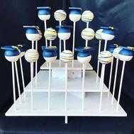 Frankling College Graduation Cake Pops