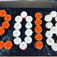 Beech Grove Graduation Cupcakes