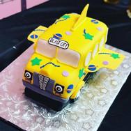 The Magic School Bus 3d Cake