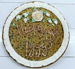 Rose Gold Cookie Cake