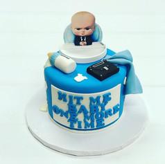 Boss Baby Shower Cake