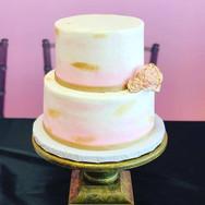 Watercolor Buttercream Cake