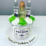 Tequilla Theme Birthday Cake