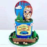 Camp Westlake Birthday Cake