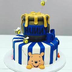 Honey Pot Baby Shower Cake