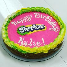 Shopkins Theme Cookie Cake