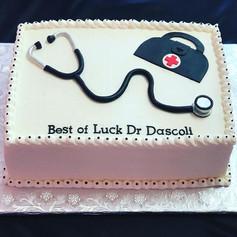Doctor Retirement Cake