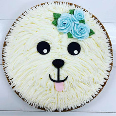 Dog Cookie Cake