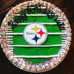 Steelers Cookie Cake