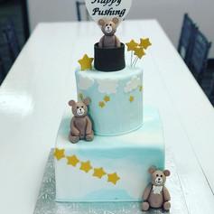 Bear Push Cake