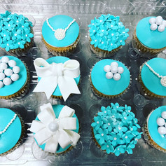 Tiffany and Co Inspired Cupcakes