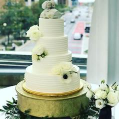 Precious Moments Wedding Cake