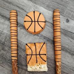 Basketball Theme Chocolate Covered Desse