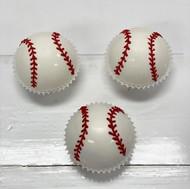 Baseball Cake Bites