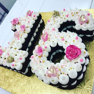 Sweet 16 Carved Cake
