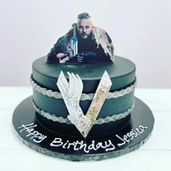Viking Birthday Cake