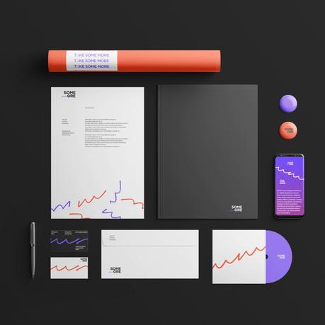 SOMEMORE - Brand Application