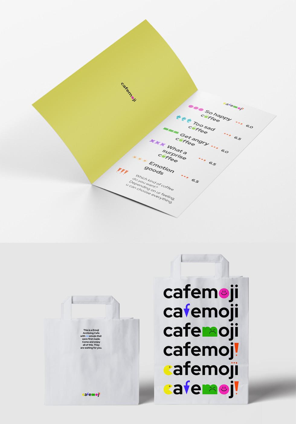 cafemoji, Package Design