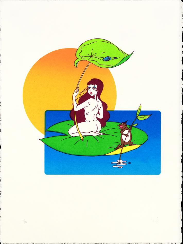 LILY PAD RIDE ● 大蝦蟇