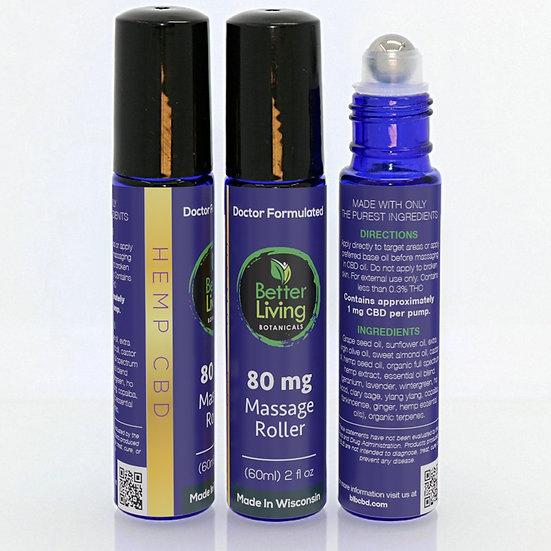 New 80mg Massage oil Roller ball