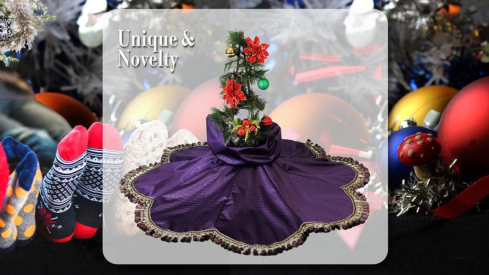 Unique & Novelty - Purple Haze Holiday