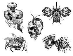 Tattoo flashes