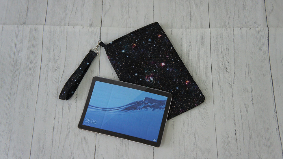 Galaxy padded Sleeve with wrist loop for tablets up to 17x25 cm / 7x10 in