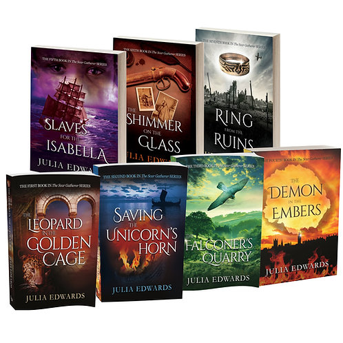 Full series: get all seven Scar Gatherer books at a 10% discount