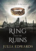 The Ring from the Ruins Unlucky for Some Scar Gatherer series history time travel tales twist bite Julia Edwards books independent author writing workshops schools kids children teach VIPERS comprehension Key Stage 2 Two