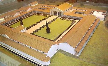 Fishbourne, Roman, Palace, Chichester, famous, Julius, Caesar, Augustus, Domitian, Lucullus, Nero, Agrippina, Julia
