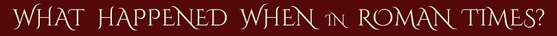 Roman timeline scar gatherer series time travel children adventure fiction history ring ruins shimmer glass slaves isabella demon embers falconer's quarry saving unicorn's horn leopard golden cage Julia Edwards
