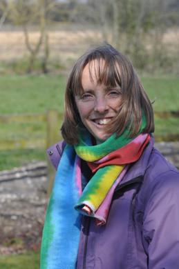 Julia Edwards scarf