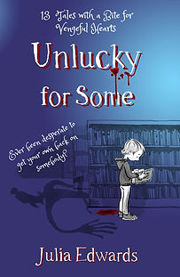 Unlucky for Some cover. Unlucky for Some Scar Gatherer series history time travel tales twist bite Julia Edwards books independent author writing workshops schools kids children teach VIPERS comprehension Key Stage 2 Two