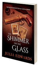The Shimmer on the Glass Unlucky for Some Scar Gatherer series history time travel tales twist bite Julia Edwards books independent author writing workshops schools kids children teach VIPERS comprehension Key Stage 2 Two