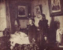 death, Victorian, England, post, mortem, photography, memento, mori, mourning, full, half, clocks, mirrors