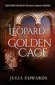 scar gatherer series time travel children adventure fiction history ring ruins shimmer glass slaves isabella demon embers falconer's quarry saving unicorn's horn leopard golden cage Julia Edwardsn Cage cover