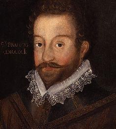 Tudors, famous, queen, Elizabeth, Francis, Drake, Spanish, Armada, Golden, Hind, sea, captain, Plymouth, Hoe, bowls, lead, coffin